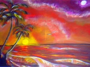 Fine Art Island Seascape by Laurel Marie Sobol